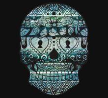 Aztec Skull II by cathleenmae