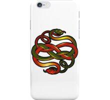 Snake knotwork iPhone Case/Skin