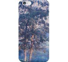 Blue Trees. Monet Style iPhone Case/Skin
