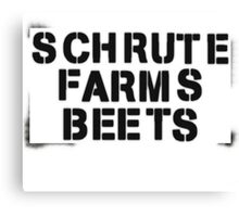 SCHRUTE FARMS BEETS Canvas Print