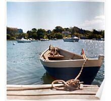 Cape Cod Dorey (Shot with a Twin Lens Reflex) Poster