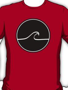 Minimal Wave - Black T-Shirt