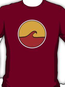 Minimal Wave - Red/Yellow T-Shirt