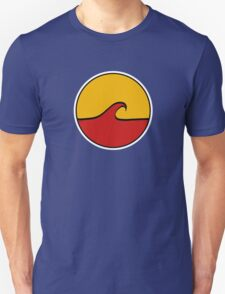 Minimal Wave - Red and Yellow T-Shirt