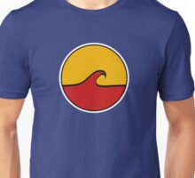 Minimal Wave - Red and Yellow Unisex T-Shirt