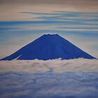 Blue Fuji by Michael Beddall