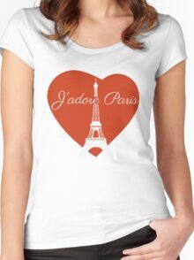 J'adore Paris Women's Fitted Scoop T-Shirt