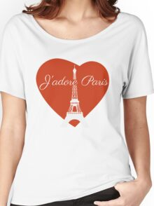 J'adore Paris Women's Relaxed Fit T-Shirt