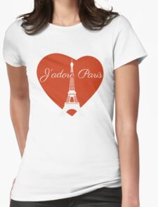 J'adore Paris Womens Fitted T-Shirt