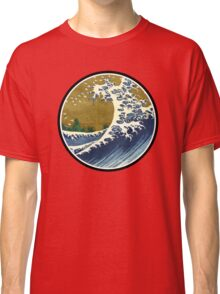 Japanese surf wave Classic T-Shirt