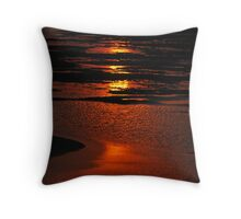 Fire on the Water1 Throw Pillow