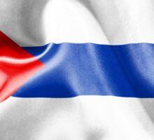 Cuba Flag Sticker