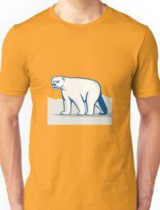 Polar Bear Isolated Cartoon Unisex T-Shirt