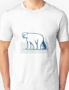 Polar Bear Isolated Cartoon T-Shirt