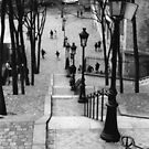 Montmartre by Violette Grosse