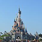 Disneyland Paris Castle by Lewkeisthename