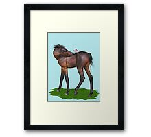 That Niggling Itch .. tee shirt, case Framed Print