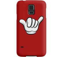 Hang loose fingers Samsung Galaxy Case/Skin