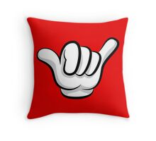 Hang loose fingers Throw Pillow