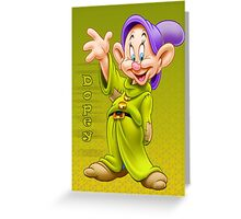 Sweety Dopey Greeting Card