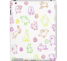 Easter pattern iPad Case/Skin