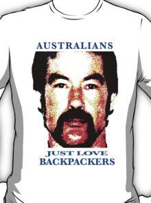 Australians Just Love Backpackers T-Shirt