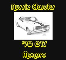 '70 GTS Monaro - Aussie Classics (Yellow Text) Unisex T-Shirt