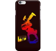 bboy colored iPhone Case/Skin
