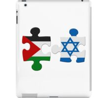 Israel and Palestine Conflict Flag Puzzle iPad Case/Skin