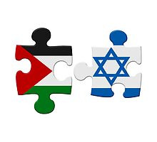 Israel and Palestine Conflict Flag Puzzle by MarkUK97