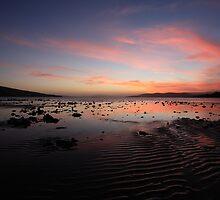 Ralphs Bay Sunset 3, Tasmania  by David Jamrozik