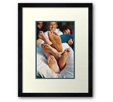 Feet Salad © Vicki Ferrari Framed Print