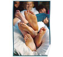 Feet Salad © Vicki Ferrari Poster