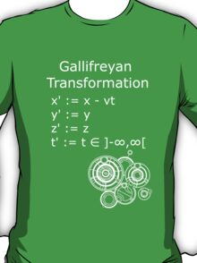 Gallifreyan Transformation 2 T-Shirt