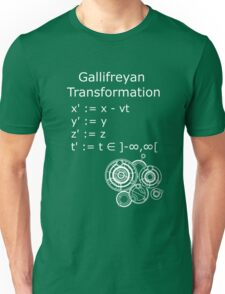 Gallifreyan Transformation 2 Unisex T-Shirt