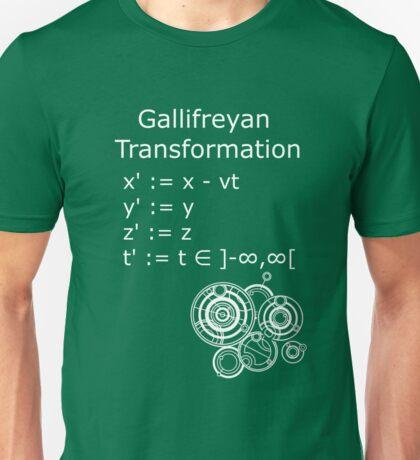 Gallifreyan Transformation 2 Unisex T-Shirt