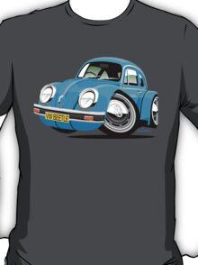VW Beetle blue T-Shirt
