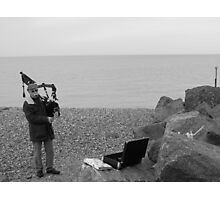 Notes by the Sea Photographic Print