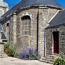 The Church, Piriac-Sur-Mer, France by Elaine Teague