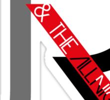 J.R. & The Allnighters Logo Sticker