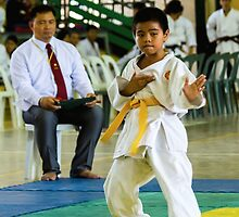 "jka-3110__KARATESTA performing a ""kata"" by JhaMesSports"