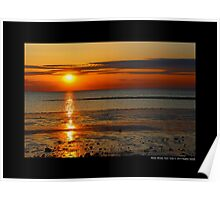 West Meadow Beach Sunset | Stony Brook, New York  Poster