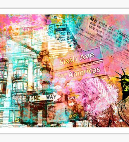 Trip to New York Sticker