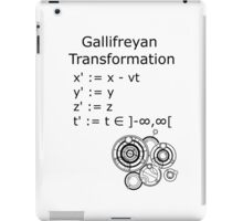 Gallifreyan Transformation iPad Case/Skin