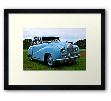 A lovely homely woman..and a very good cook! Framed Print