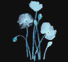 blue poppy Womens Fitted T-Shirt