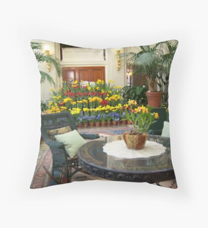 Eastman Kodak Conservatory Room Throw Pillow