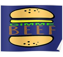 Gimme Beef. Poster