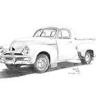 1953-56 FJ Holden Ute by Joseph Colella