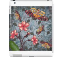 flower and moth iPad Case/Skin